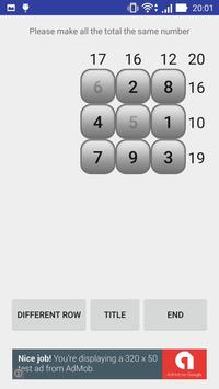 Number puzzle magic square screenshot 1