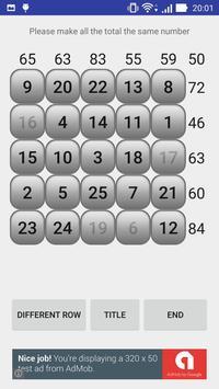 Number puzzle magic square screenshot 2