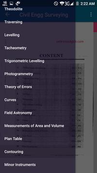 GATE Civil Engineering Surveying screenshot 1