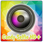 Candy Selfie Camera HD icon