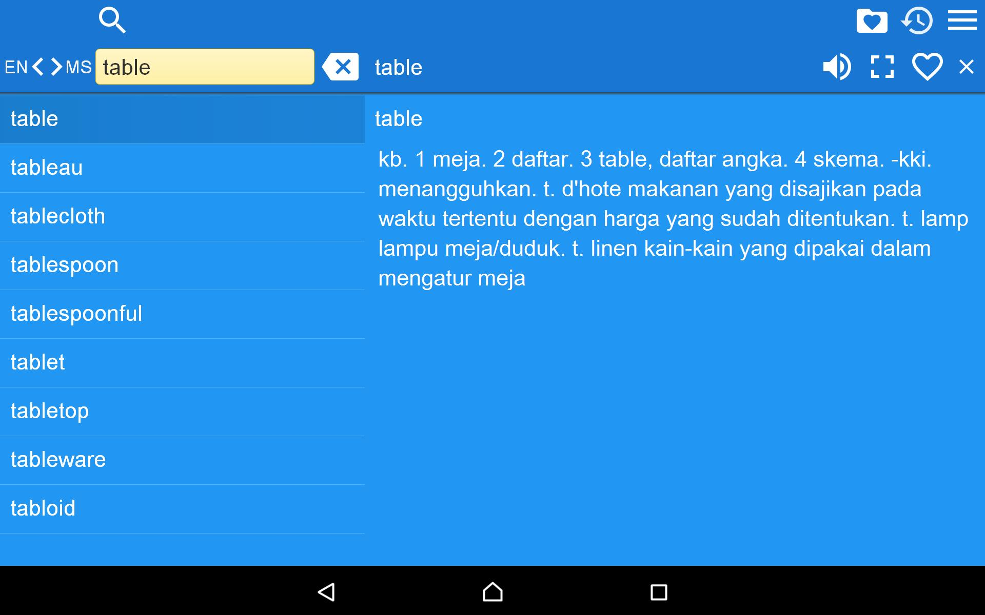 English Malay Dictionary Free For Android Apk Download