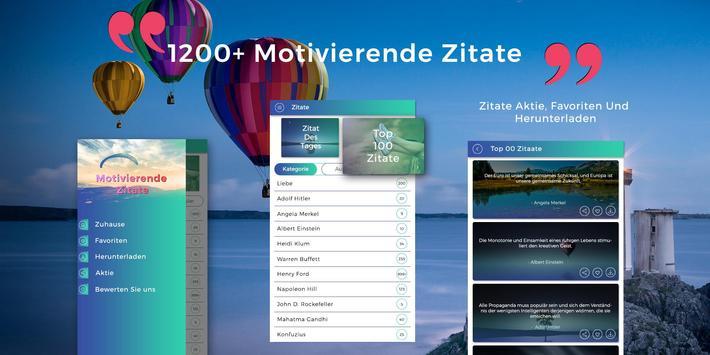 1200 Motivierende Zitate - Inspirerende Zitate poster