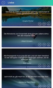 1200 Motivierende Zitate - Inspirerende Zitate screenshot 2