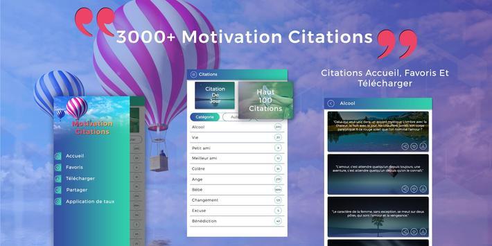 3000 Citations de motivation, Inspiration Citation poster