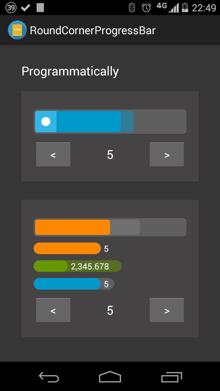 Round Corner Progress Bar for Android - APK Download