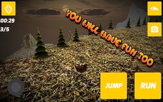 Escape Chicken Simulator poster
