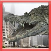 Wild Crocodile Run icon