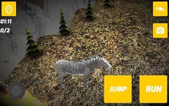 3D Wild Zebra screenshot 6