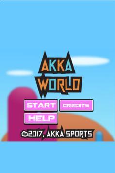 Akka world poster