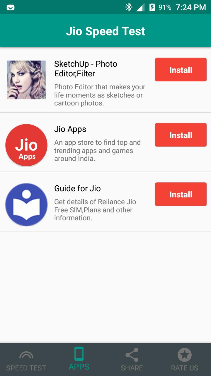 Jio Speed Test for Android - APK Download