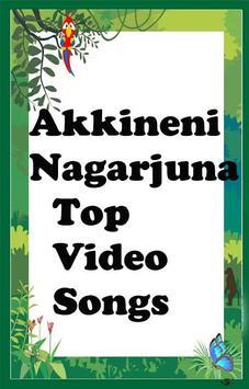 Akkineni Nagarjuna Top  Songs poster