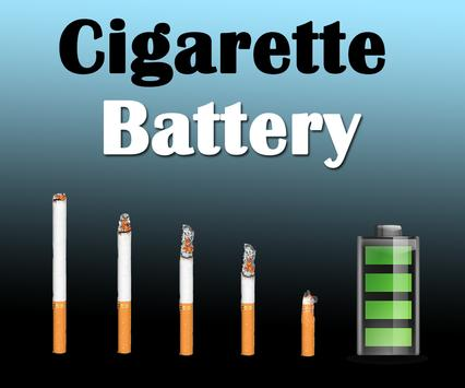 Cigarette Battery Lifecycle apk screenshot