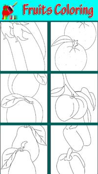 Fruits Coloring Book Game poster