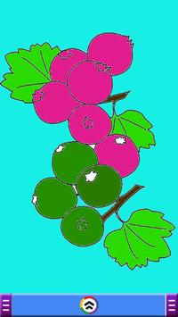 Fruits Coloring Book Game screenshot 1