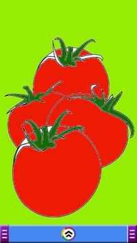 Fruits Coloring Book Game screenshot 2