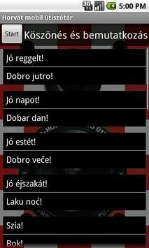 Hungarian-Croatian TravelGuide screenshot 2