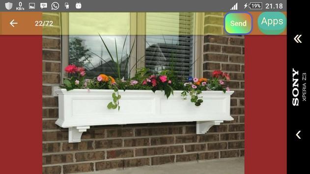 Window boxes flower apk screenshot