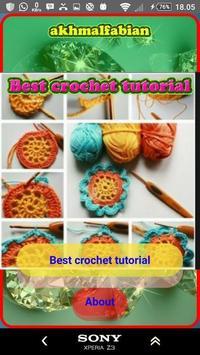 Best crochet tutorial poster