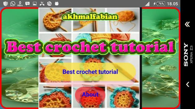 Best crochet tutorial screenshot 1