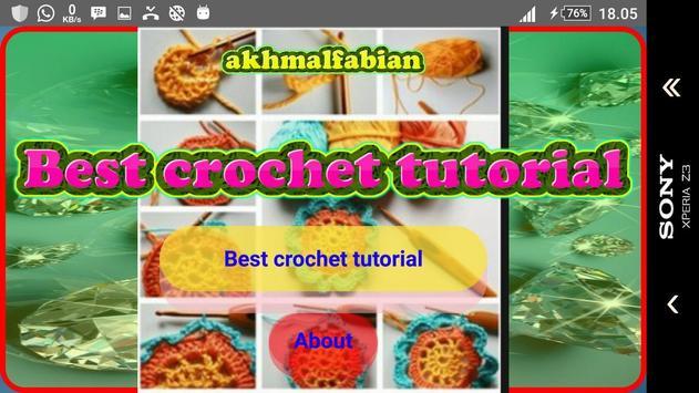 Best crochet tutorial screenshot 1