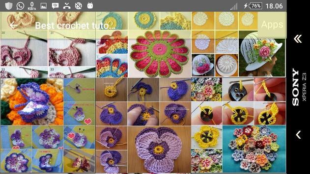 Best crochet tutorial screenshot 24