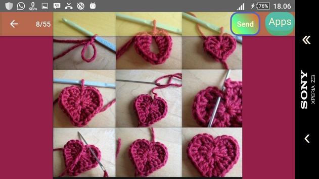 Best crochet tutorial screenshot 26