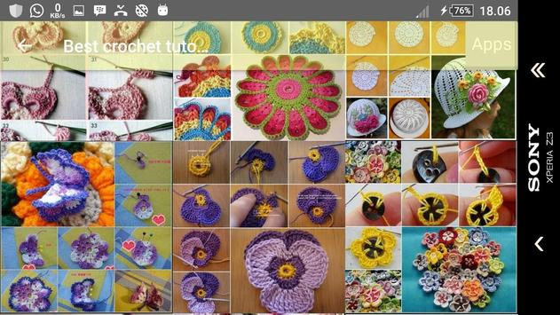 Best crochet tutorial screenshot 3