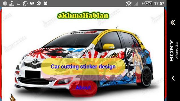 Car cutting sticker design screenshot 15