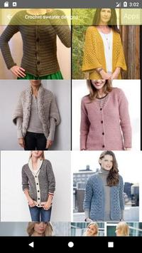612a8d7cd98948 Crochet sweater designs for Android - APK Download