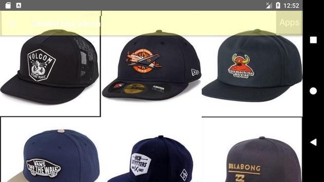 Cool hat design's apk screenshot