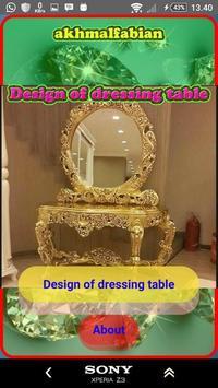 Design a dressing table screenshot 18