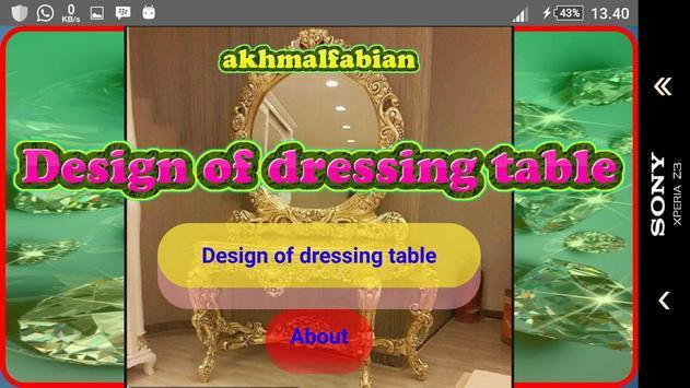 Design a dressing table screenshot 11