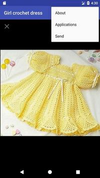 Girl crochet dress screenshot 4