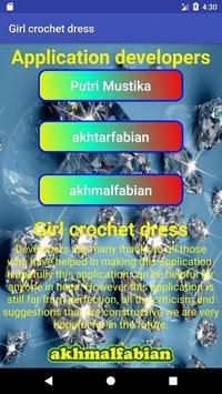 Girl crochet dress screenshot 5