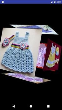 Girl crochet dress screenshot 1