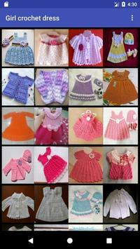 Girl crochet dress screenshot 2