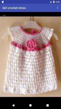 Girl crochet dress screenshot 3