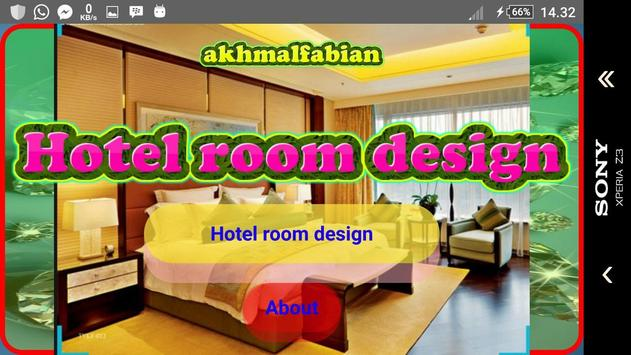 Hotel room design screenshot 1
