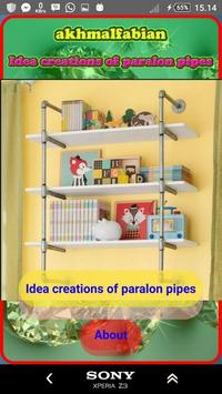 idea creations from water pipes poster