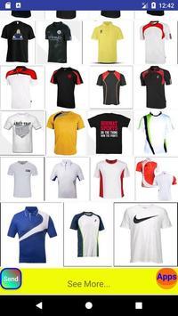 Jersey sports tshirt design screenshot 3