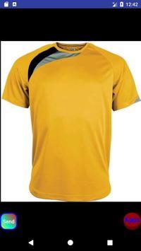 Jersey sports tshirt design screenshot 4