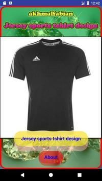 Jersey sports tshirt design screenshot 7