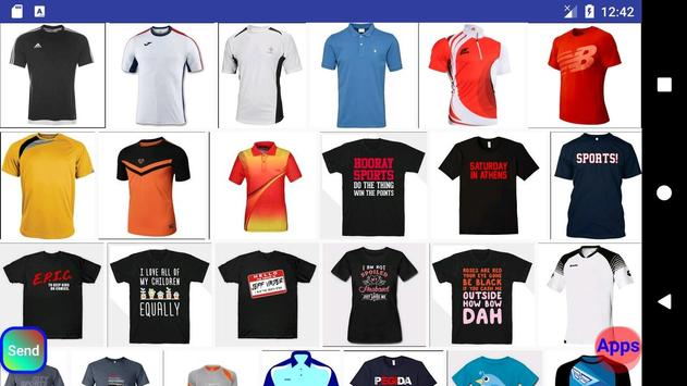 Jersey sports tshirt design screenshot 9