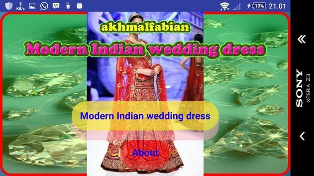 Modern Indian wedding dress screenshot 1