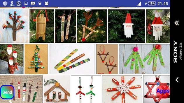 Christmas stick craft screenshot 11