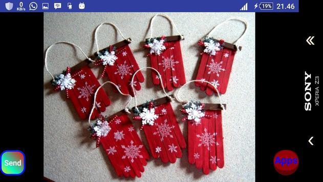 Christmas stick craft screenshot 5