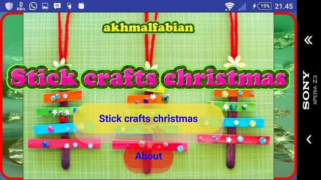 Christmas stick craft screenshot 9