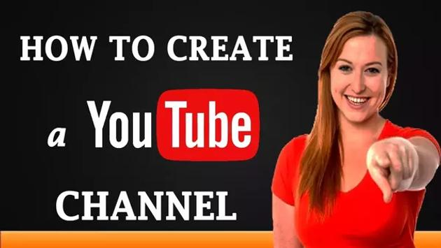 How To Create Youtube Channel poster