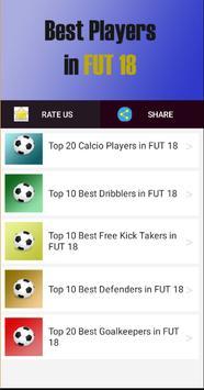 Best Players in FUT 18 screenshot 2