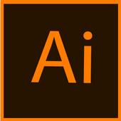 Adobe illustrator shortcut key icon